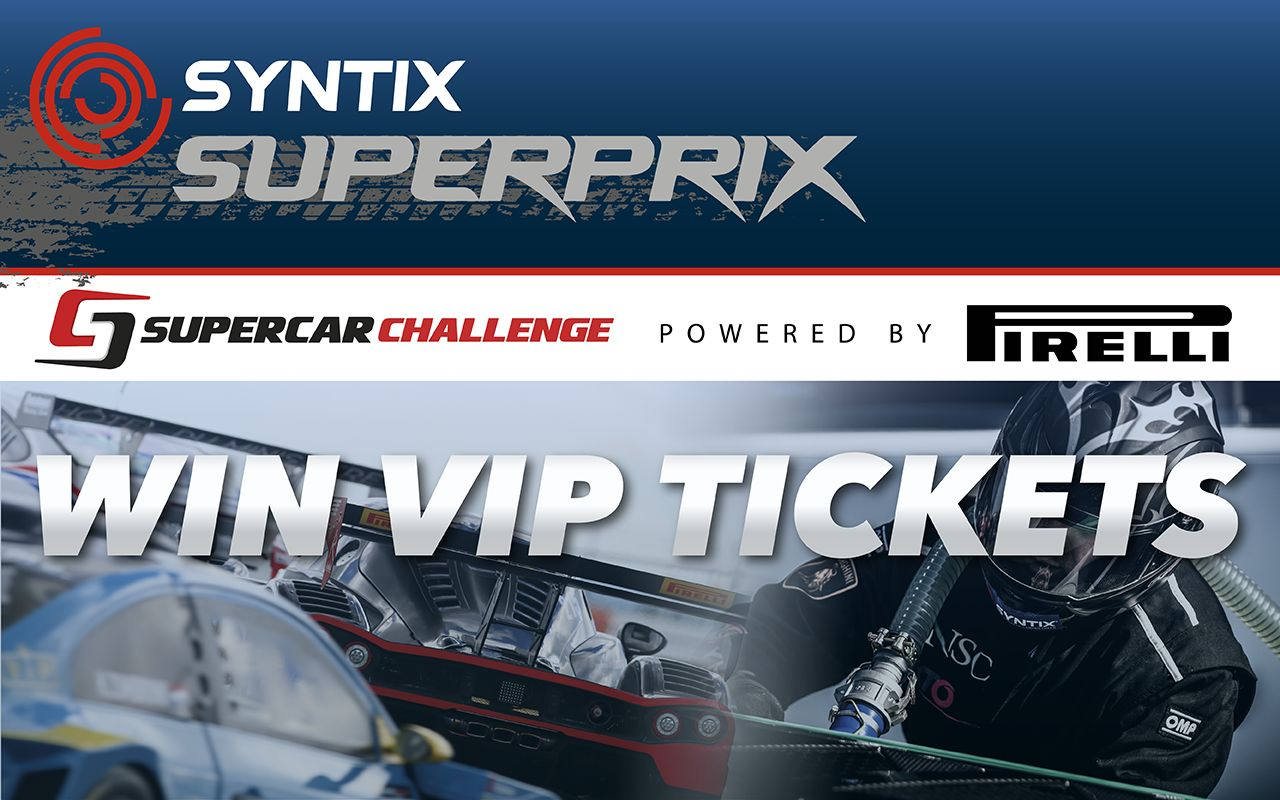 Syntix Superprix powered by Pirelli - Syntix Innovative Lubricants - VIP tickets
