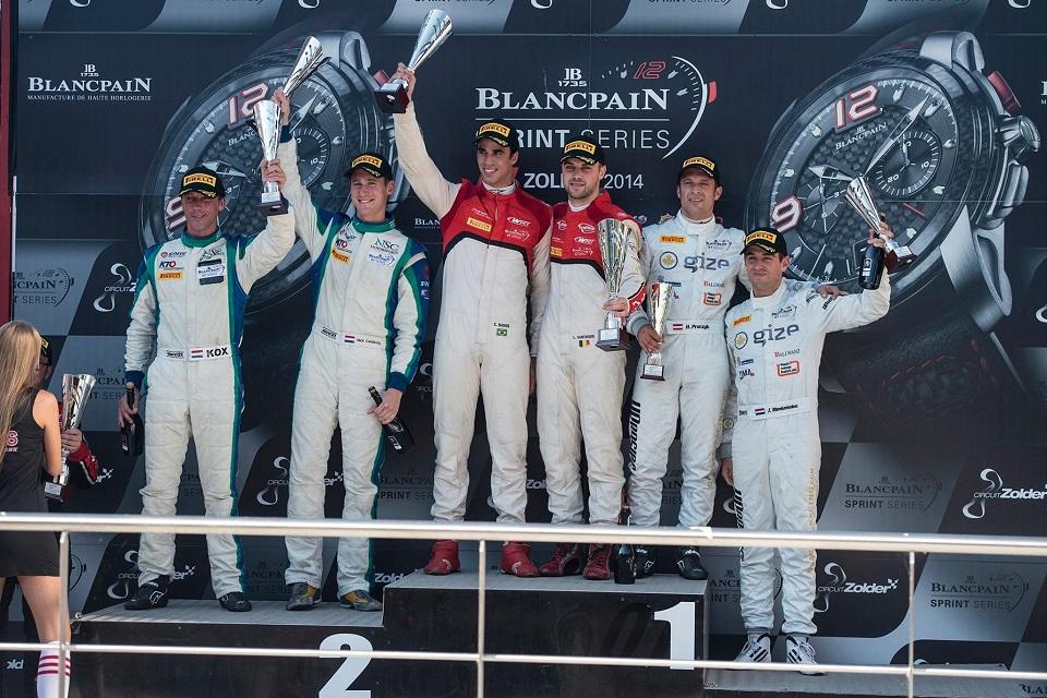 Energetic seasonclosers 2014 - Blancpain Sprint Series, BRRC, AutoGP, Supercar Challenge 1