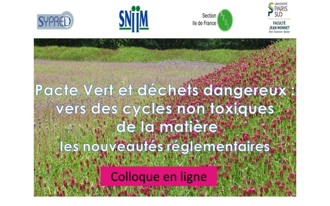 Colloque Sypred/SNIIM/SFDE/PSU 15/10/2020 EN LIGNE