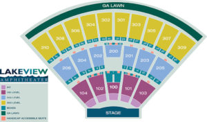 Lakeview Amphitheater Seating Chart
