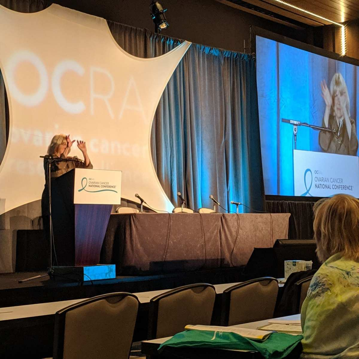 Special Feature No Woman Should Die Of Breast Or Ovarian Cancer Cny S Hope For Heather Reports Back Following 2019 National Conference Syracuse Woman Magazine