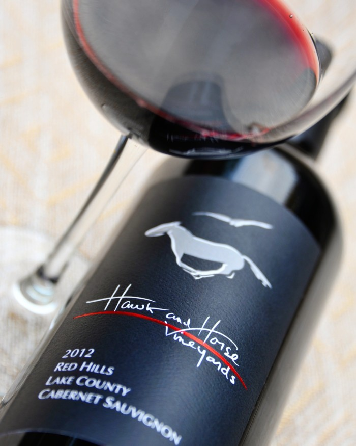 Incredible Cabernet Sauvignon from Hawk and Horse Vineyards