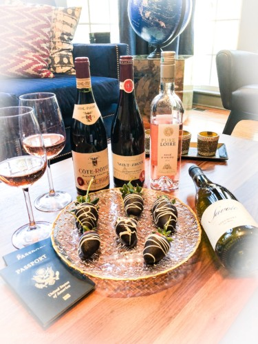 Valentine's Day Romance with French Wines