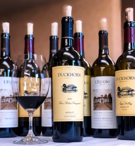 #MerlotMe with Duckhorn Vineyards & L'Ecole N° 41