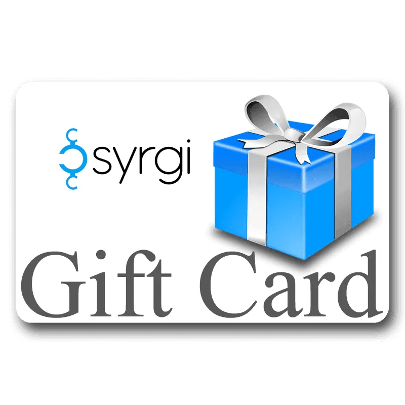 Buy a Gift Card today to give the gift of Syrgi!