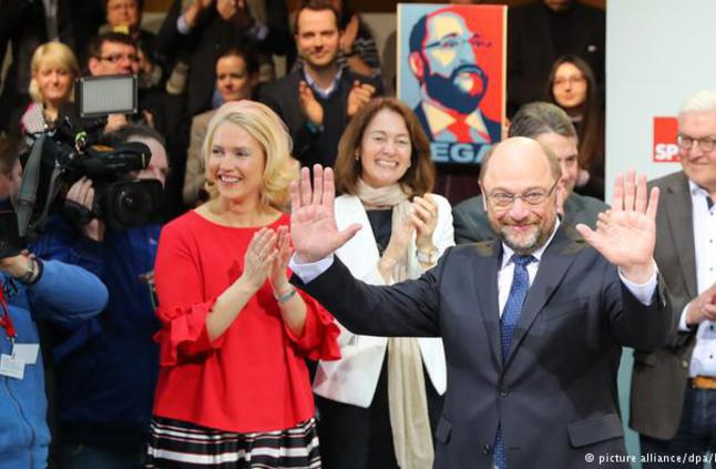 Glückwunsch an die Sozialdemokratische Partei Deutschlands und Herrn Martin Schultz