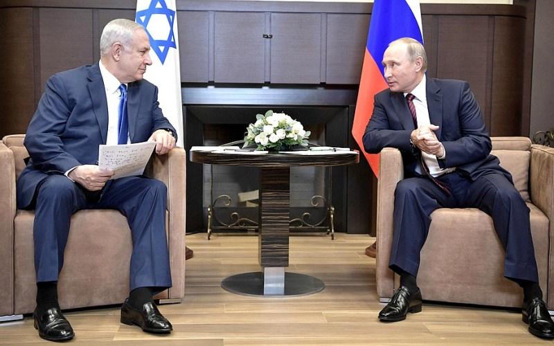 Syria-Intelligence-Poutine-Netanyahu-Syrie-Russie-Israël