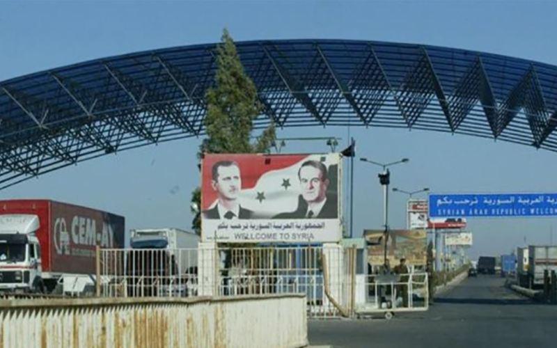 Syria-Intelligence-poste-frontière-Nassib-Jaber-Syrie-Jordanie