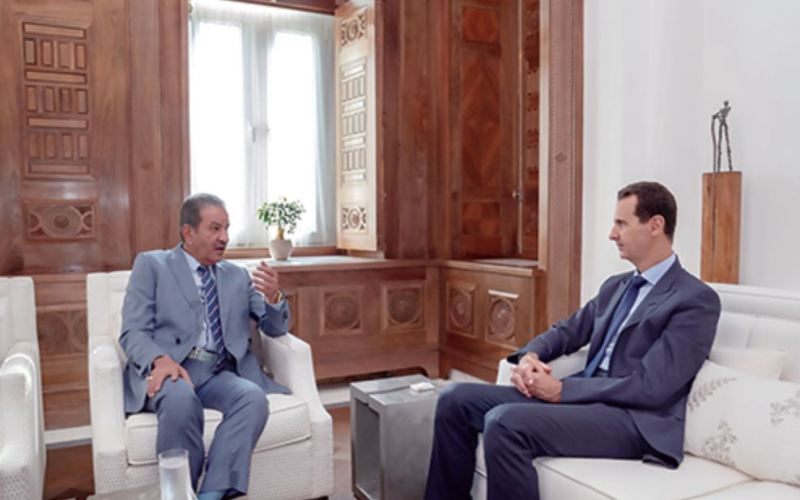 Syria-Intelligence-president-Assad-interview-journal-koweit-alshahed-avec-Sabah-alMohamed