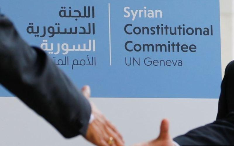 Première réunion du Comité constitutionnel à Genève, le 30 octobre (ImageDenis Balibouse via Reuters)