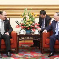 Le vice-président chinois reçoit une délégation syrienne à Pékin