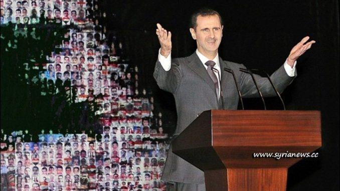 President Bashar Al Assad