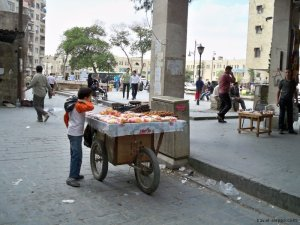 Aleppo Souk - Once beautiful and peaceful.
