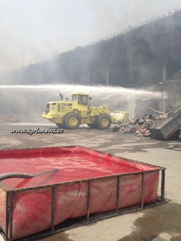 What's left of Haram Plaza Shopping Mall