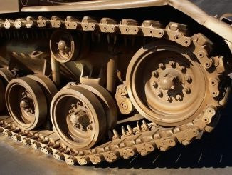 Heavy Treads on the Wheels of Construction Machinery