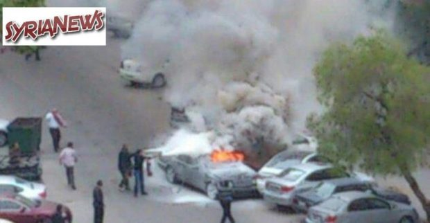 Car detonated in Mazzeh residential neighborhood