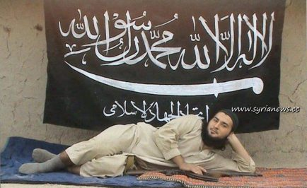 Sample of a Wahhabi Sex Jihadist fighting to establish Freedom and promote Democracy in Syria