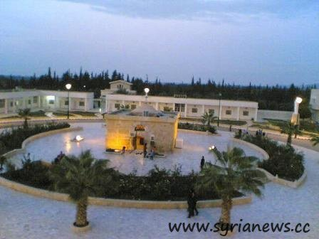 Mar Elias Monastery before it was 'liberated' by Nusra Front