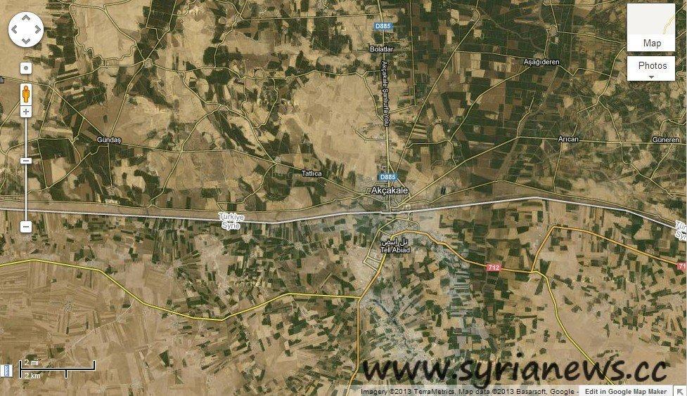 Turkey-Syria Borders