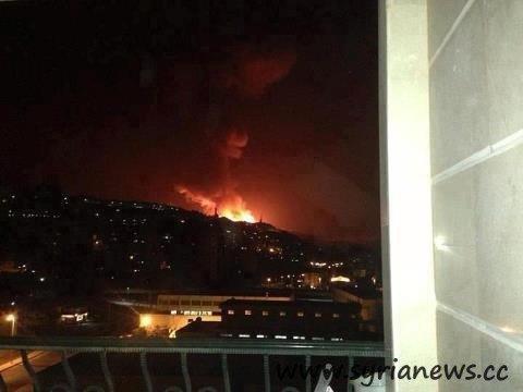 Zionist terrorism against Damascus