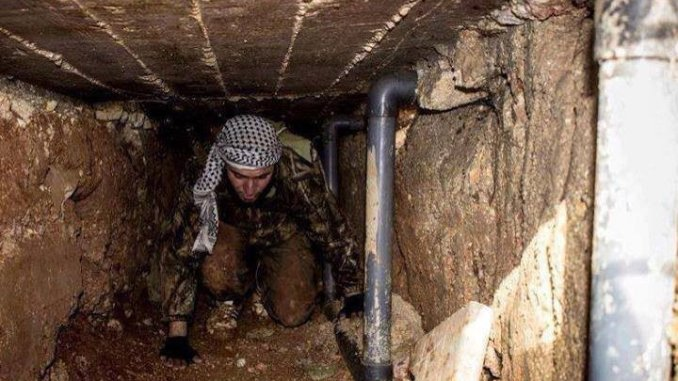 SAA are flushing FSA from the sewers