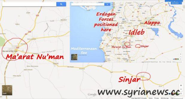 Sinjar - Idleb countryside