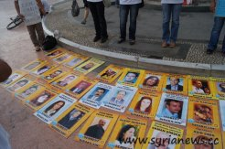 Images of the political prisoners are shown