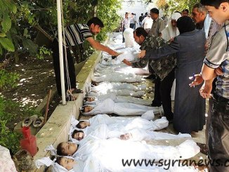 Children victims of alleged chemical attack