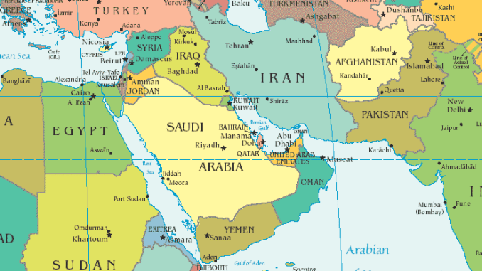 Middle East, North Africa, sub-Saharan Africa and Central Asia