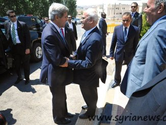 U.S. Secretary of Kerry meets the Palestinian chief negotiator Saeb Erekat / U.S. Department of State / public domain