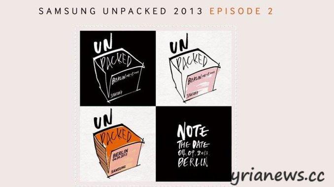 Samsung: Galaxy Note 3-Unpacked Event Berlin