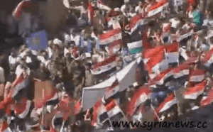 Homs: Rally in Support of the Syrian Arab Army