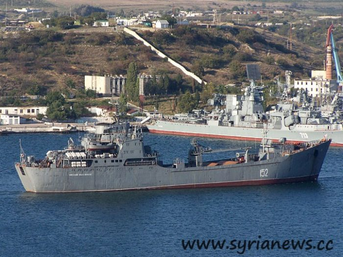 "Large Landing Ship ""Nikolay Filchenkov"" (photo A.Brichevsky, 10/05/2006)"