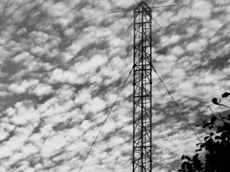 Military Communications Mast overlooking the East China Sea.
