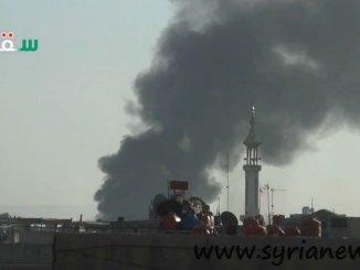 Thameco Warehouses Targeted by Wahhabi AlQaeda FSA terrorists