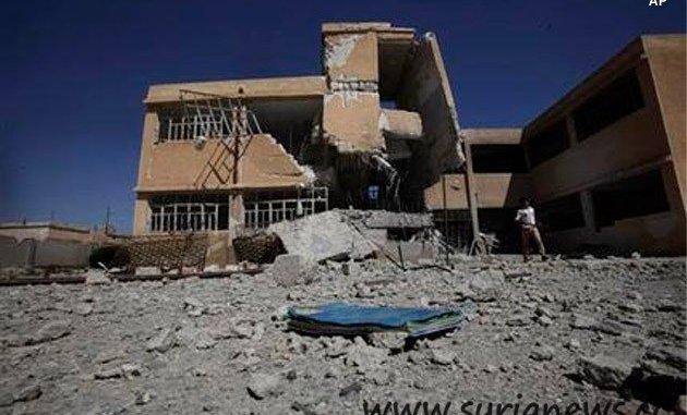 Ruins of a Syrian School