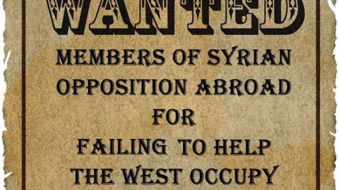 Syrian Opposition Abroad Wanted for Justice