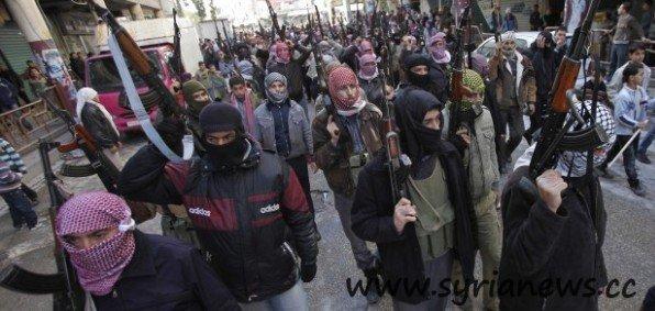 NATO Sponsored Al Qaeda terrorists in Syria