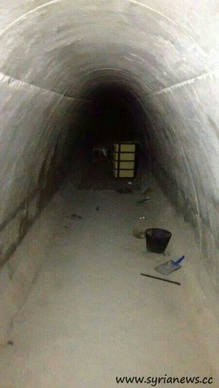 The terrorist tunnel in Yebroud
