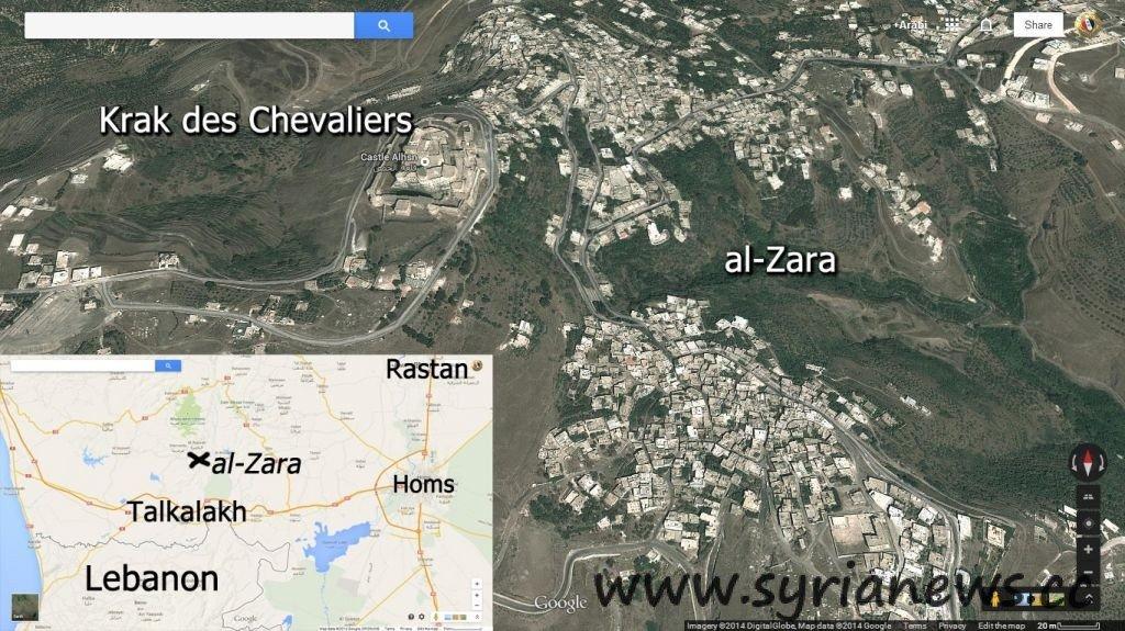 al-Zara town liberated by SAA & NDF in Homs western countryside
