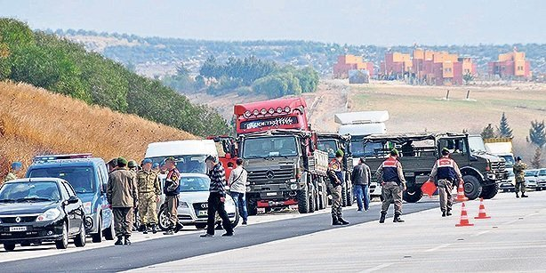 Syria-bound trucks operated by MİT were searched in January 2014 after prosecutors received tip-offs that they are illegally carrying arms to Syria