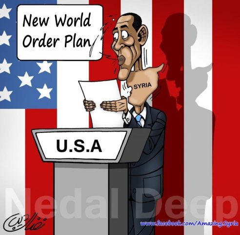 image- Syria a thorn in the New World Order Throat