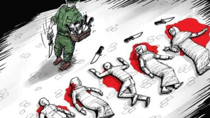 Zionists Killing Spree in Palestine