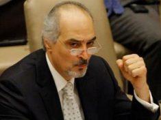 image-Syrian Ambassador to the United Nations Dr. Bashar Jaafari