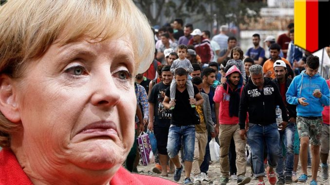 Germany Merkel Syria