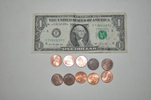 The USD has been domestically struggling. These coins represent 1/10 of the paper bill. Ten of them can purchase nothing.