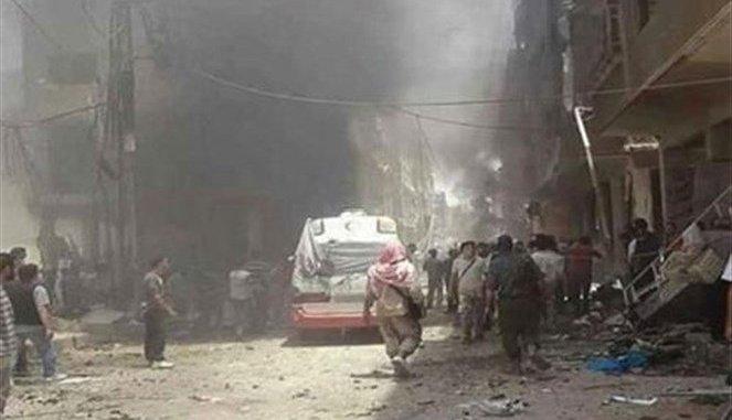Terror Explosions at Sayyeda Zainab