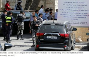 Jordanian security must have been all tying their shoelaces when the assassin appeared