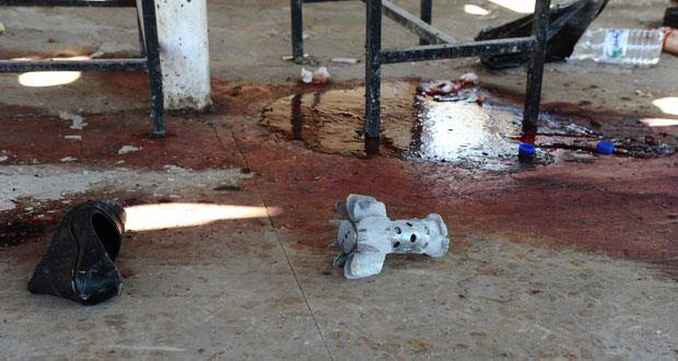 Moderate mortar, in immoderate Syrian blood