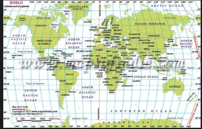 map with latitude Idealvistalistco